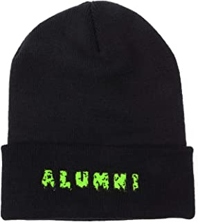 "Tha Alumni Clothing (アルムナイクロージング) ニットキャップ ブラック×グリーンロゴ""SLIME BEANIE"" [並行輸入品]"