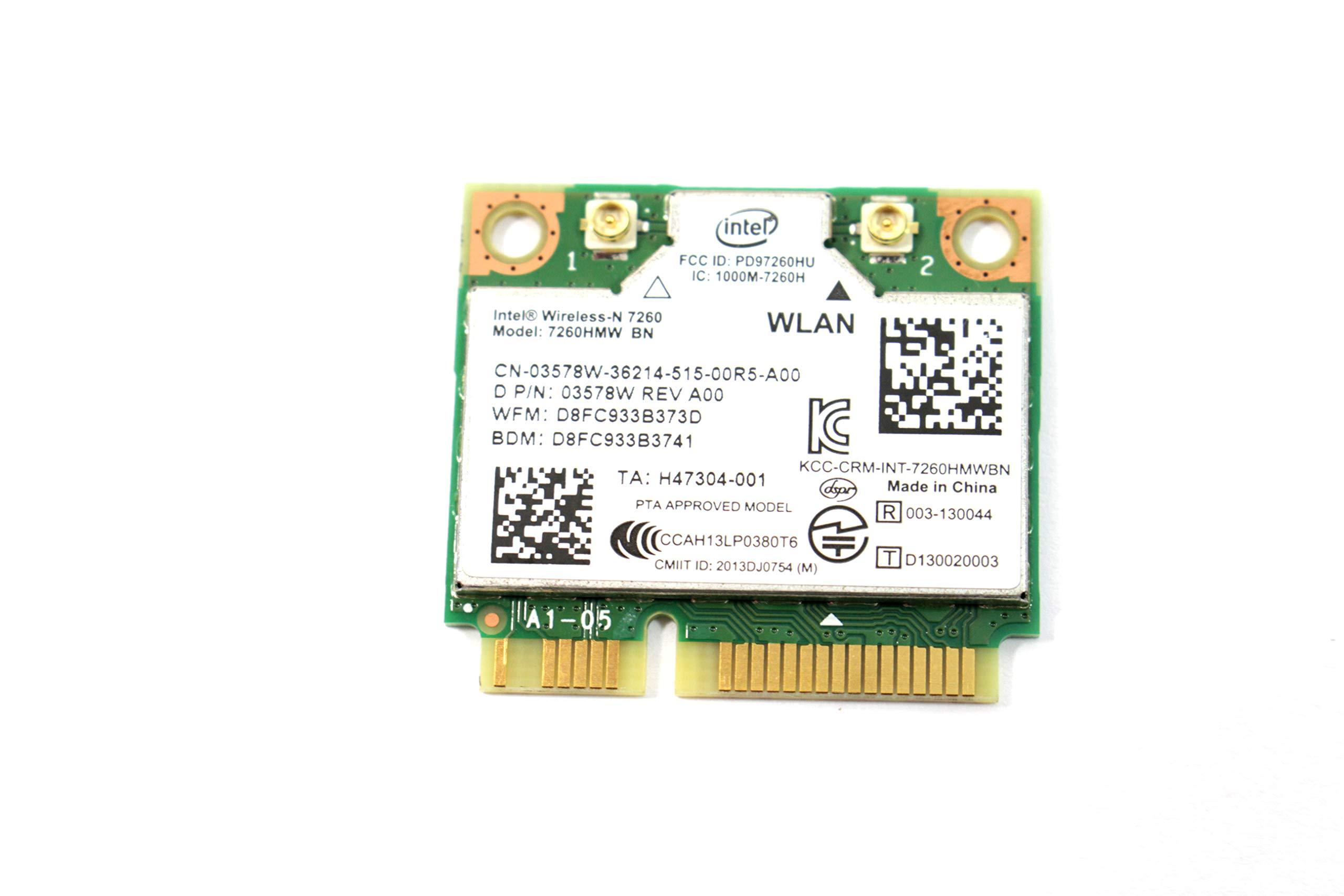 Intel 7260 HMWG R Wireless AC Network adapter
