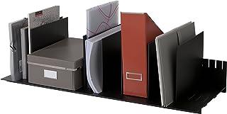 Horizontal and Vertical Sections 3020.01 PaperFlow 21.38-Inch Desktop Evolution Organizer Black