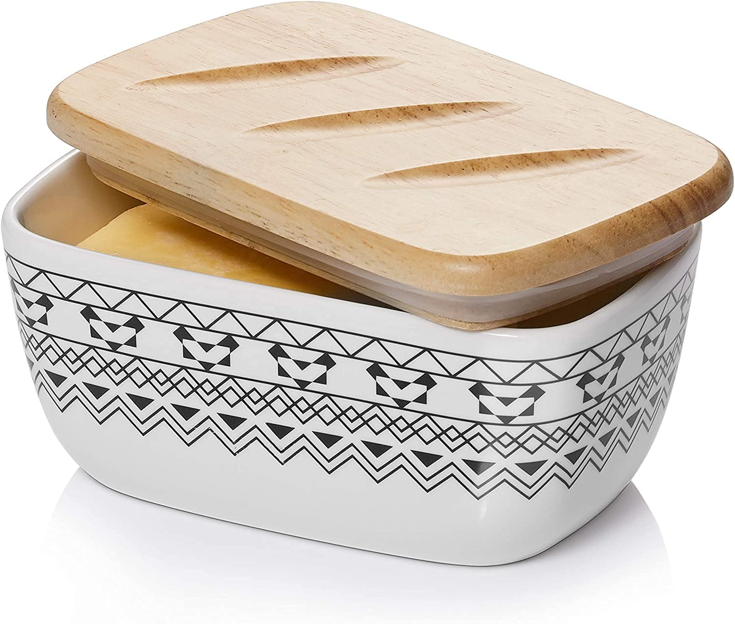 DOWAN Butter Dish Ranking TOP12 Max 41% OFF with Holder Covered Lid Ceramic
