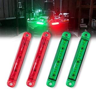 Boat Navigation Lights, 12V Waterproof Marine Utility Led Strip Lights for Boat Lights Bow and Stern, Navigation Lights fo...