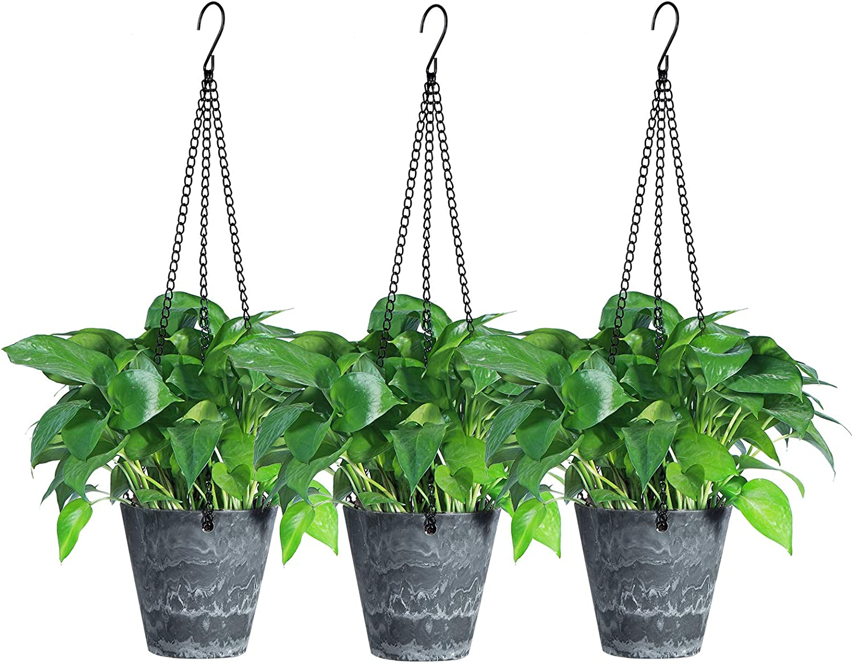 Hanging Dedication Planters with Hook Ranking TOP16 Yangbaga Outdoor Inch Flow 5.7 Indoor