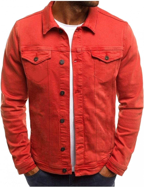 KEEYO Men Cargo Military Jackets Lightweight Casual Windbreaker Autumn Winter Button Down Cotton Bomber Jackets Outwear