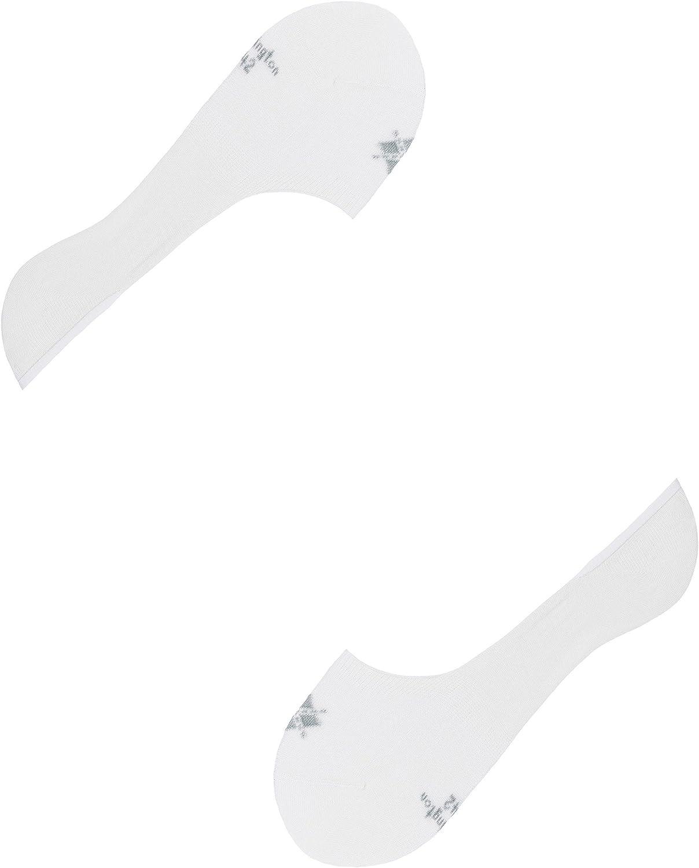 Burlington F/ü/ßlinge Everyday Invisible 2-Pack Baumwolle Gr/ö/ße 39-46 Herren schwarz wei/ß viele weitere Farben F/ü/ßlinge unsichtbar ohne Motiv atmungsaktiv High Cut im Mulitpack 2 Paar
