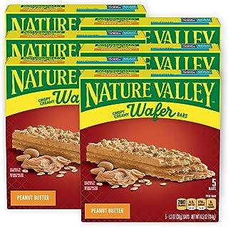Nature Valley Crispy Creamy Wafer Bars, Peanut Butter, 30 Bars