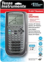 Texas Instruments TI-89 Titanium Graphing Calculator (packaging may differ) (Renewed) photo