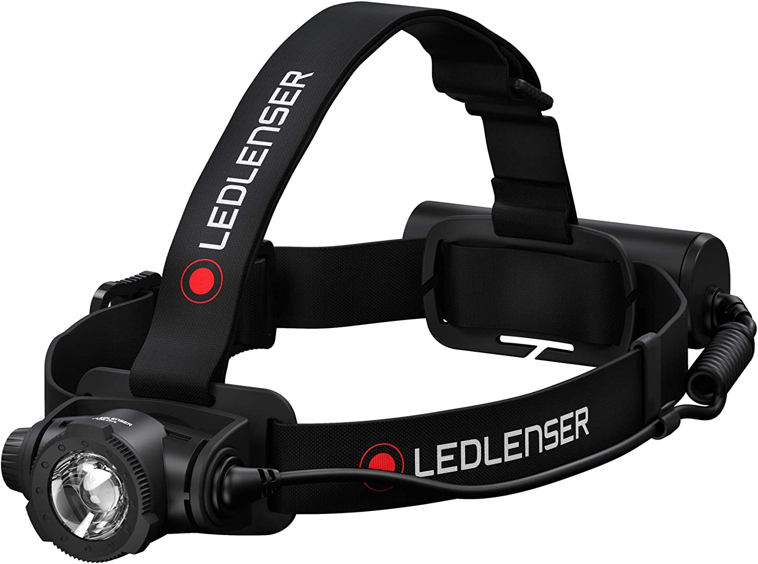 Ledlenser 2500 Lumens Ledlenser Connecting System Advanced Focus System Waterproof Constant Light Output Magnetic Charge System H15R Core Rechargeable Headlamp Dimmable Dustproof