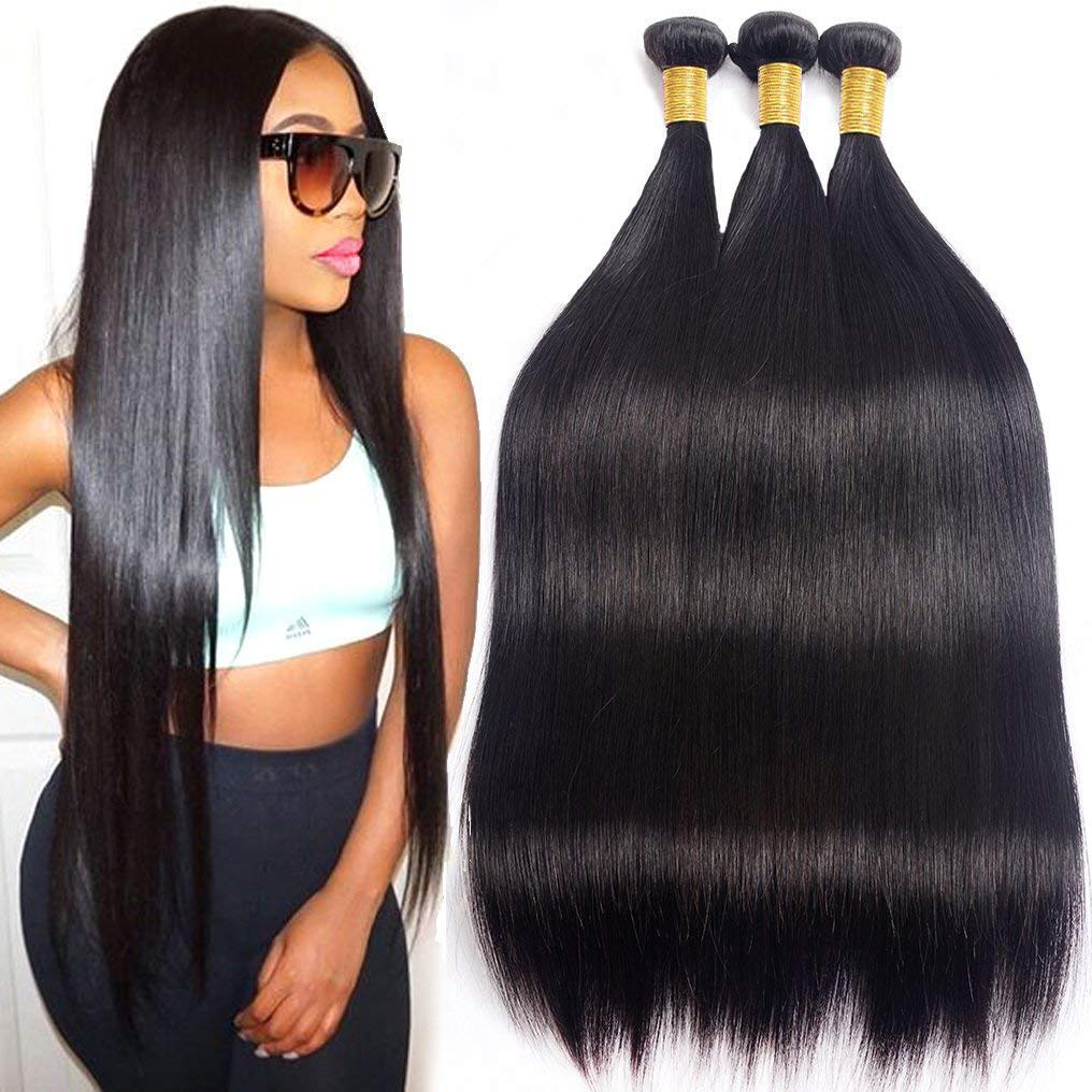 Straight Challenge the lowest price New Free Shipping Human Hair Bundles Brazilian 12 B 3 inch