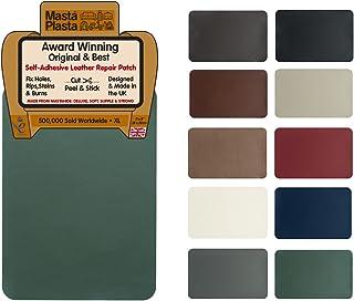 MastaPlasta Self-Adhesive Leather Repair Patch. XL 28cmx20cm. Choose Colour. First-aid for Sofas, car Seats. Fix Holes, ri...