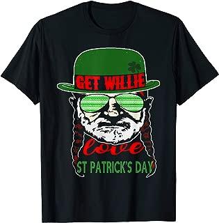 Get Willie Shirt Nelson Love St. Patrick's Day For Men Women T-Shirt