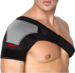 HK Shoulder Brace for Men Women with Pressure Pad Shoulder Support Adjustable Strap for Torn Rotator Cuff Dislocated AC Joint,Labrum Tear,Shoulder Pain,Shoulder Compression Sleeve, Right