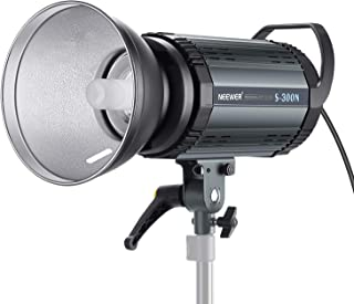 Neewer S300N Professional Studio Monolight Strobe Flash Light-300W 5600K with Modeling Lamp,Aluminium Alloy Professional Speedlite for Indoor Studio Location Model Photography and Portrait Photography