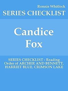 Candice Fox - SERIES CHECKLIST - Reading Order of ARCHER AND BENNETT, HARRIET BLUE, CRIMSON LAKE