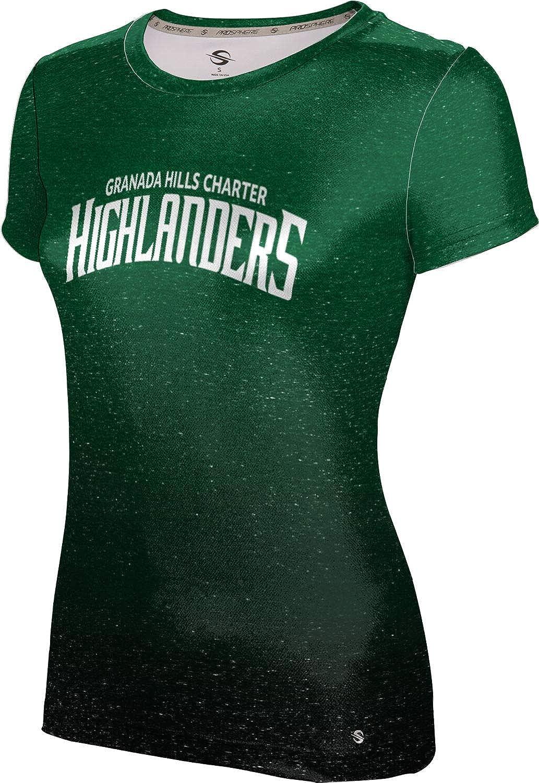 ProSphere Granada Hills Charter High School Girls' Performance T-Shirt (Ombre)