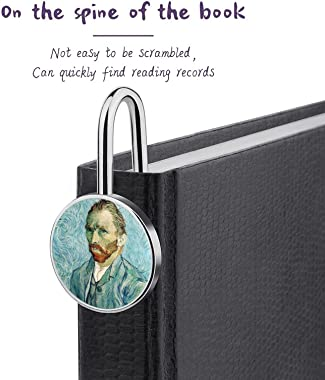 Custom Stainless Steel Vintage Bookmarks, 5.7'' X 0.9'' X 1'' One-Sided Printed Personalized Silver R