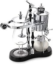 Diguo Belgian/Belgium Luxury Royal Family Balance Siphon/Syphon Coffee Maker. Elegant Double Ridged Fulcrum with Tee handle