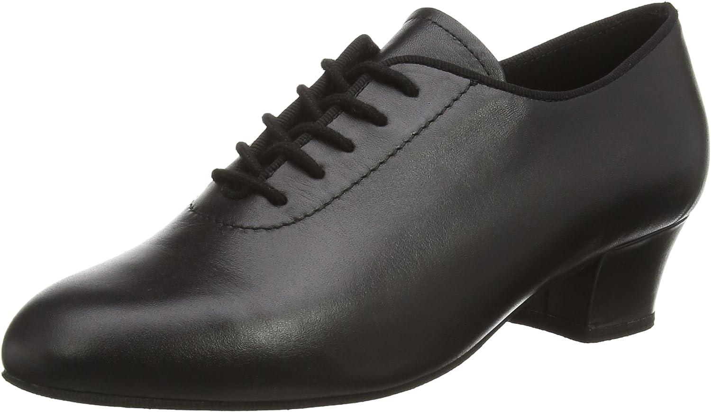 Diamant Mens 093-034-034-A Ladies Black Leather - American 7   European 4.5