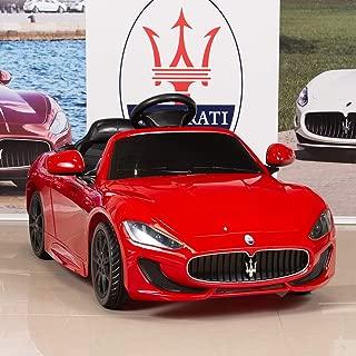 BIG TOYS DIRECT 12V Electric Kids Ride On Car Maserati GranCabrio with RC Remote