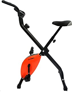 Kobo Magnetic Exercise Bike/Exercise Cycle X-Bike Folding (Orange)