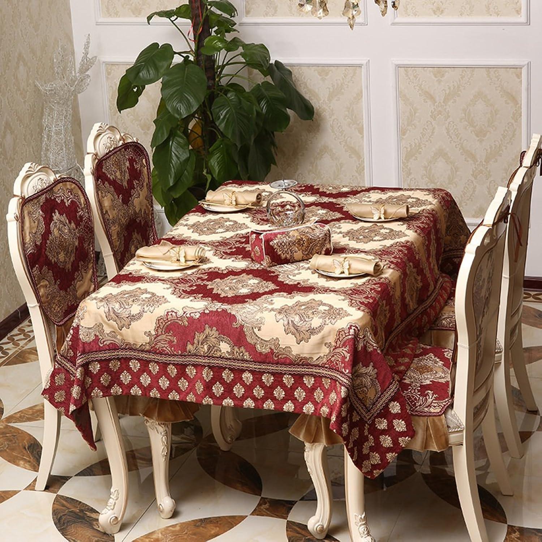 European Table-Cloth,Fabric Rectangular Chair Mat,Increase The Table Flag Coffee Cloth-C 90x90cm(35x35inch)