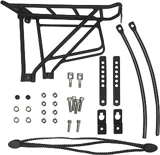 Voltech Bikes Rear Rack, Durable Lightweight Aluminum Cargo Rack for Fat Tire Bike or Electric Bikes