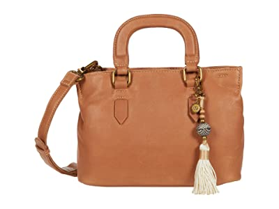 The Sak Santa Barbara Mini Satchel (Tobacco) Handbags