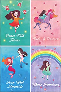 """L & O Goods Unicorn Room Décor Girls Bedroom Posters 