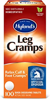 Hyland's Leg Cramp Tablets by, Natural Relief of Calf, Leg and Foot Cramp, - No Flavor 100 Count