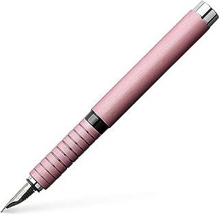 Faber-Castell Essentio Aluminium Fountain Pen, Medium, Rose (19-148420)