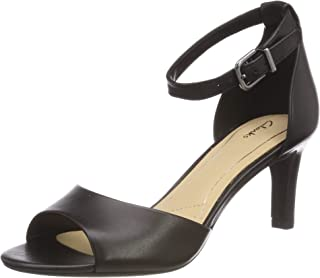 02f90d75 Clarks Laureti Grace, Zapatos con Tacon y Correa de Tobillo para Mujer