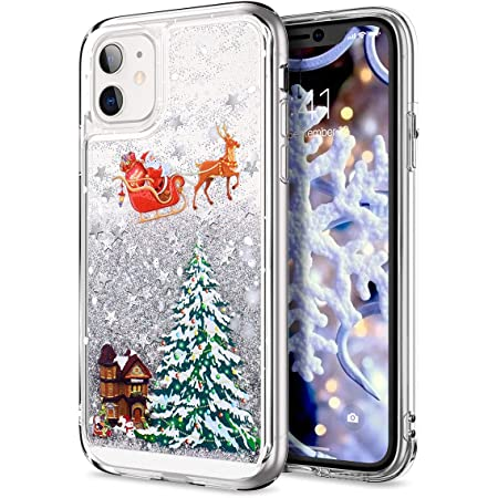 Amazon.com: Topwin Christmas Case for iPhone 11 (6.1''), Merry ...