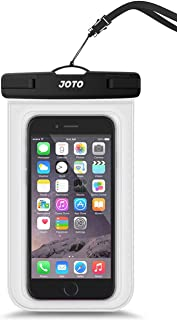 JOTO Universal Waterproof Pouch Cellphone Dry Bag Case for iPhone 13 Pro Max Mini, 12 11 Pro Max Xs Max XR X 8 7 6S Plus S...