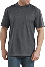 Dickies Men's Short Sleeve Heavyweight Heathered Crew Neck Tee