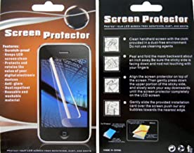 For ZTE Merit 990G Avail Z990 LCD Mirror Screen Protector Guard - Perfect Fit