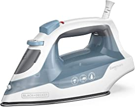 BLACK+DECKER Easy Compact Iron with Spray