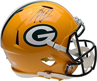 Rashan Gary Green Bay Packers Autographed Riddell Speed Replica Helmet - Fanatics Authentic Certified
