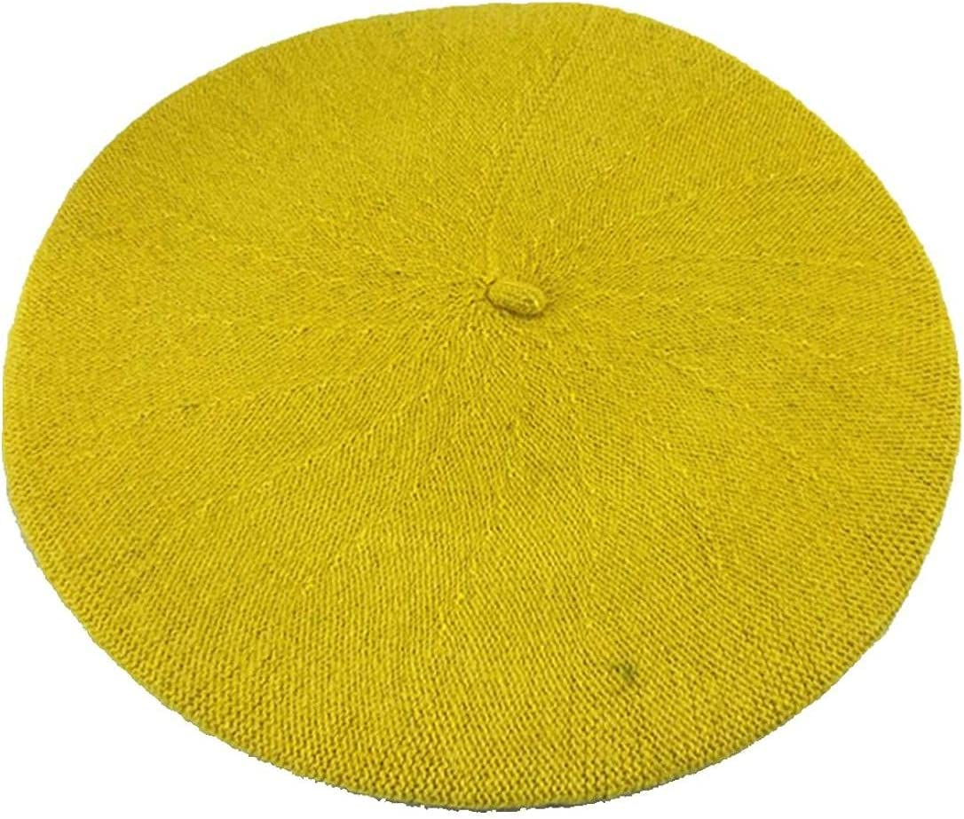 Ladies Wool Winter Beret Fashion French Style Warm Hairy Hats Newsboy Spring Headwear for Women Girl
