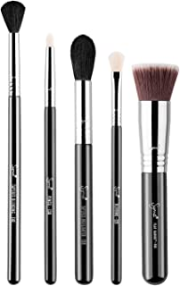 Sigma Beauty Most-Wanted Brush Set for Face and Eyes, 5 Brushes