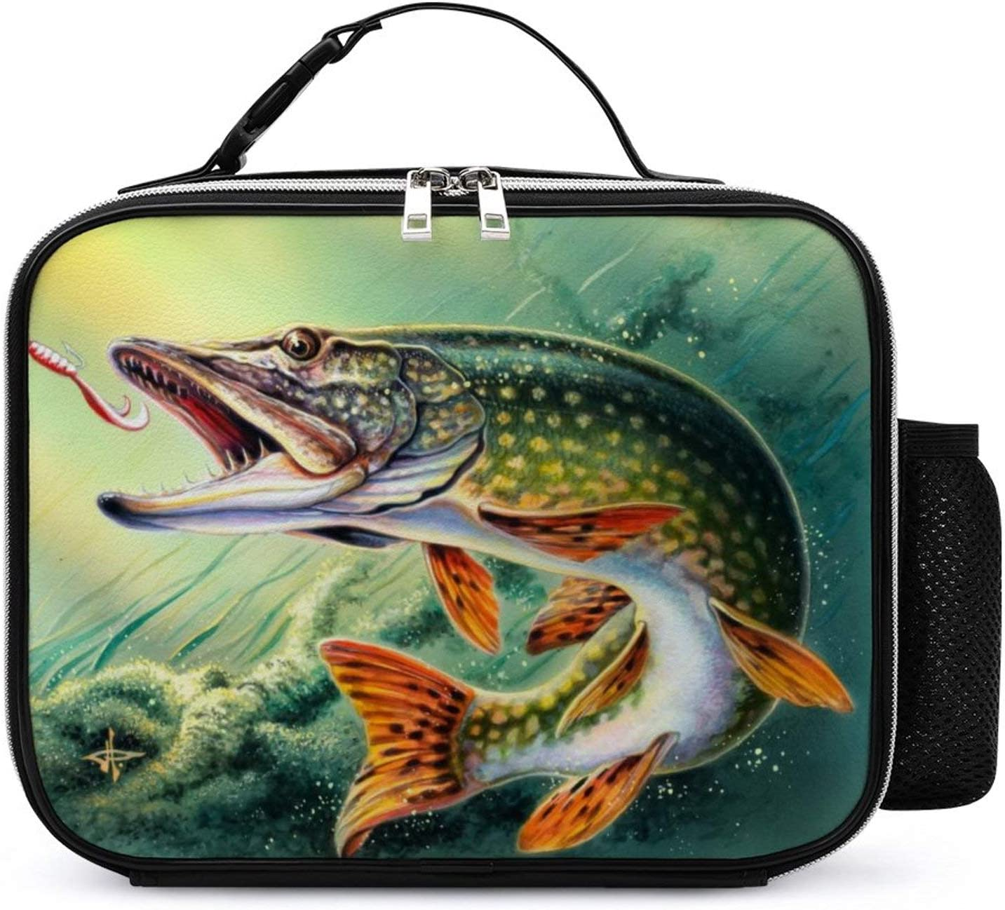 Pike Fish Fishing shop Ranking TOP12 Lure Lunch Box with Padded Ins Spacious Liner