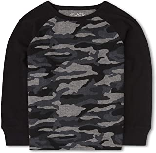 The Children's Place Boys' Camo Thermal Top