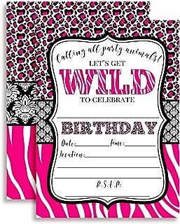 Best hot pink leopard print party supplies Reviews