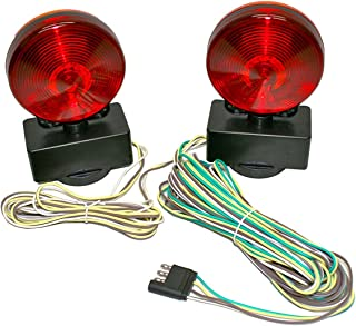 MaxxHaul 80778 Magnetic Towing Light Kit (Dual Sided for RV, Boat, Trailer and More DOT Approved)