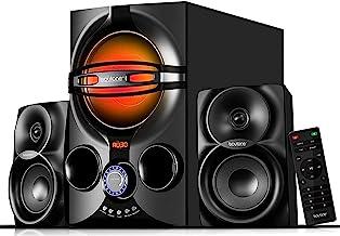 Boytone BT-324F, 2.1 Bluetooth Powerful Home Theater Speaker Systems, with FM Radio, SD USB Ports, Digital Play Back, 40 W...
