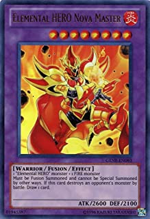 Yu-Gi-Oh! - Elemental HERO Nova Master (GENF-EN093) - Generation Force - Unlimited Edition - Ultra Rare