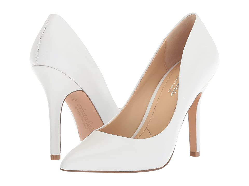 Charles by Charles David Maxx (White Leather) High Heels