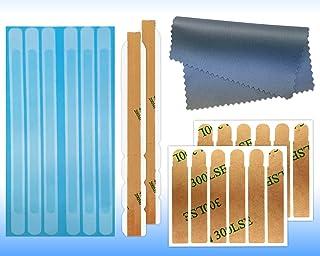 Pestañas y tiras adhesivas para visualización de privacidad para monitores de computadora y ordenadores portátiles - Kit de repuesto