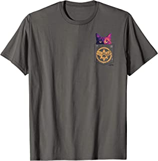Captain Marvel Goose In Cosmic Pocket Graphic T-Shirt