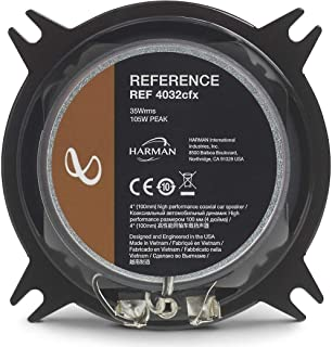 "Infinity Reference REF-4032CFX 4"" 2-way Car Speakers - Pair"