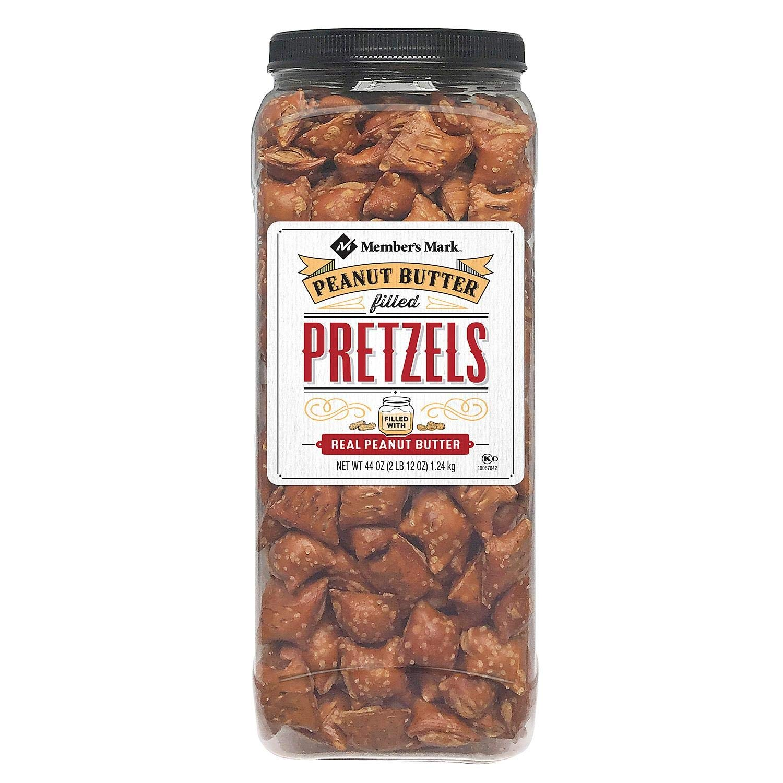 Member's Mark Peanut Butter favorite Filled Pretzels Super beauty product restock quality top! 44 OF Oz. 4 -SET