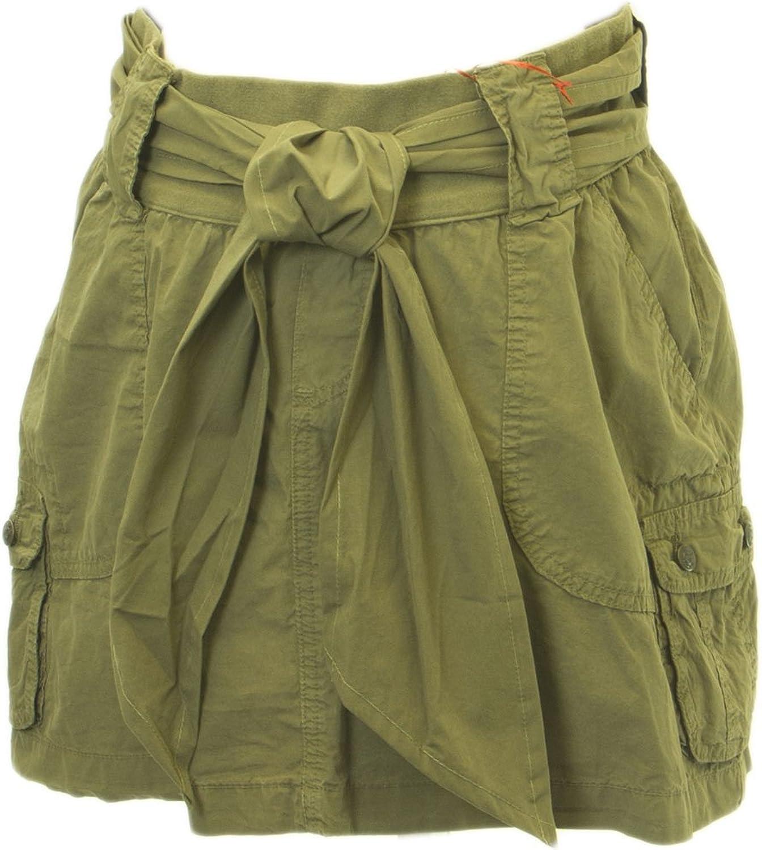 Elly B by OLIAN Maternity Women's Waist Wide Sash Mini Skirt